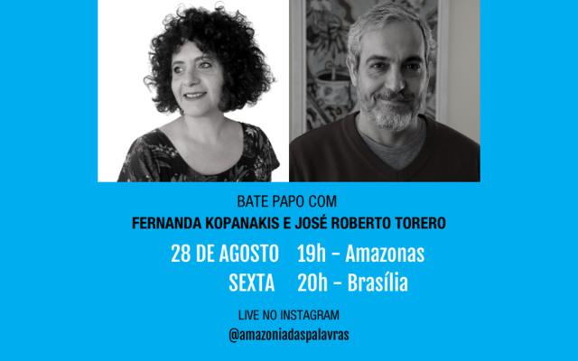 Amazônia das Palavras recebe José Roberto Torero - Gente de Opinião
