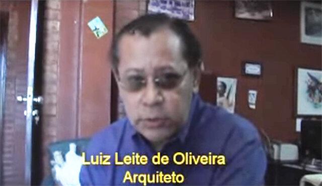 Luiz Leite de Oliveira, é caboclo da região de São Carlos do Jamari e Manicoré, estudou na Escola primaria, rural Samaritana, é arquiteto, urbanista, diplomado pela Universidade de   Brasília – UNB, fez teatro e cinema, pesquisador histórico, e pensador, raízes e  Patrimônio histórico de Rondônia é autor de varias obras de arquitetura e urbanismo, prefeituras Ji Paraná, de Vilhena (atual Unir Vilhena), Teleron na av. Lauro Sodré. Liderou o movimento de Tombamento, Reativação e Restauração da ferrovia Madeira Mamoré, quando superintendente do IPHAN RO/AC, oportunidade que colaborou para o tombamento da estrada de ferro Madeira-Mamoré, em 2005, antes na CONSTITUIÇÃO de Rondônia, 1989, colaborou com suas pesquisas para que fosse incluída no artigo 264.  o autor do Projeto de Projeto de Restauração e Elementos de Integração do Complexo Ferroviário da Estrada de Ferro Madeira-Mamoré e Beira Rio;  é presidente da Associação de Preservação do Patrimônio Histórico do Estado de Rondônia e AMIGOS DA MADEIRA MAMORÉ.   Martin Cooper, Rosi Neeleman e Gary Neeleman, Christian Kaarsberg:    PESQUISA Histórica de Colosso na Selva - Gente de Opinião