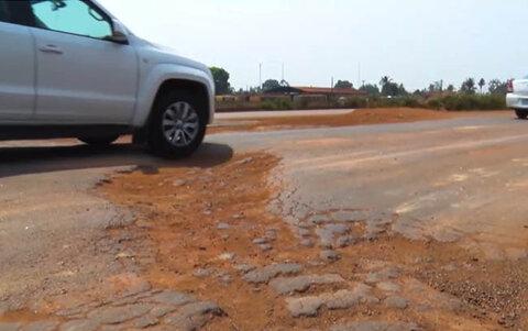 Trecho da BR-364 em Itapuã do Oeste coloca em risco a vida de motoristas