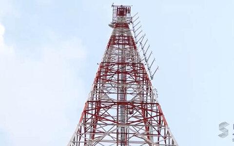 Depois da queda, torre da SIC TV reina imponente