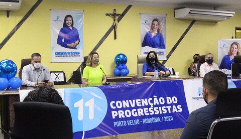 Cristiane Lopes é confirmada pelo Progressistas como candidata a prefeita de Porto Velho