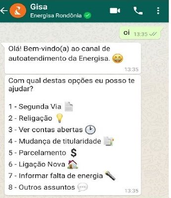Em agosto, Energisa registra 90 mil atendimentos em Rondônia