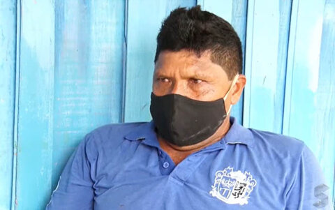 Pedro Firmino, de 53 anos, luta por cirurgia na barriga há 4 anos
