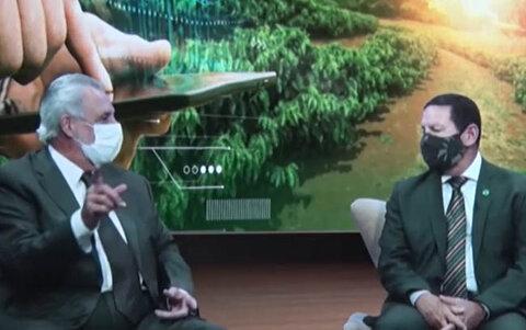 Hamilton Mourão abre a Agrolab Amazônia a maior feira digital do agronegócio no Brasil