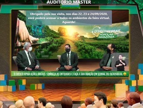 Mesmo on line, abertura oficial da Agrolab Amazônia é bastante prestigiada