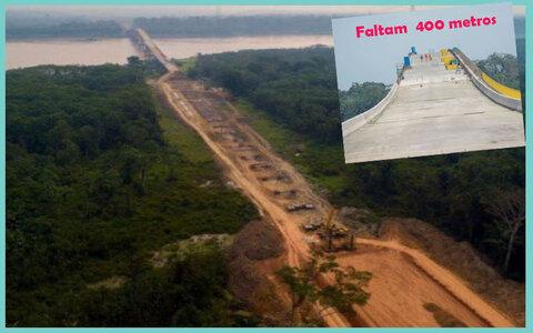 Bolsonaro só deve inaugurar ponte do Abunã em fevereiro + Tiziu, Follador e Gilvan: disputa duríssima em Ariquemes + Produtores denunciam: fiscais usam metralhadoras
