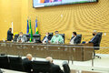 Secretário e técnicos da Sedam esclarecem ações ambientais na Assembleia Legislativa