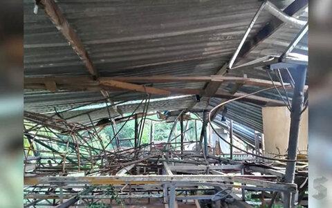 Intenso temporal provocou estragos em Porto Velho