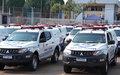 Mais 110 viaturas foram entregues nesta terça-feira para as polícias