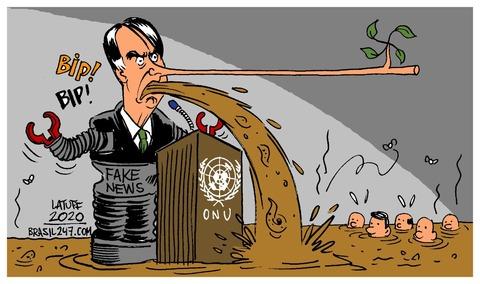 Mentiras na ONU
