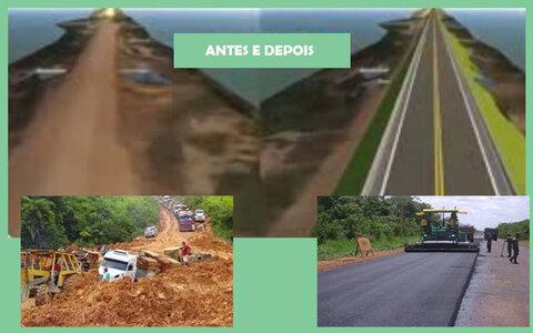 """BR 319 até Manaus será """"um exemplo de sustentabilidade"""" + Maurício será o vice na chapa de Hildon + Deus escolheu a nova vice de Tiziu"""