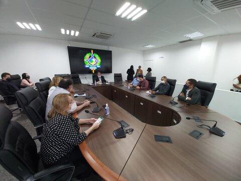 Em reunião na Assembleia Legislativa, servidores da Saúde voltam a cobrar envio do PCCR