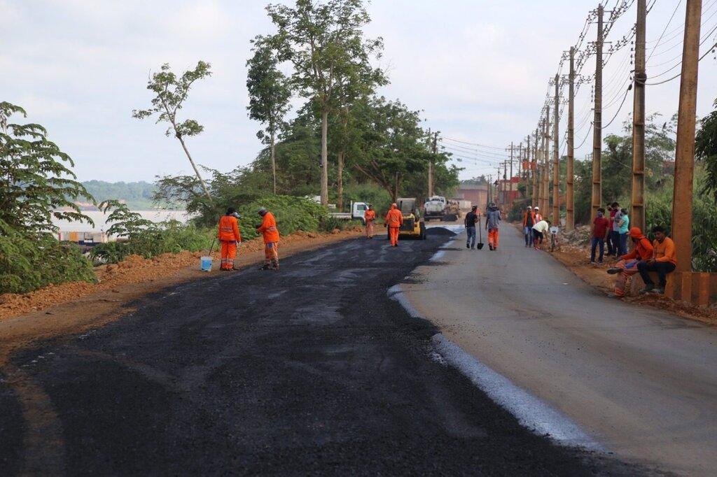 Estrada do Belmont recebe mais dois quilômetros de asfalto - Gente de Opinião