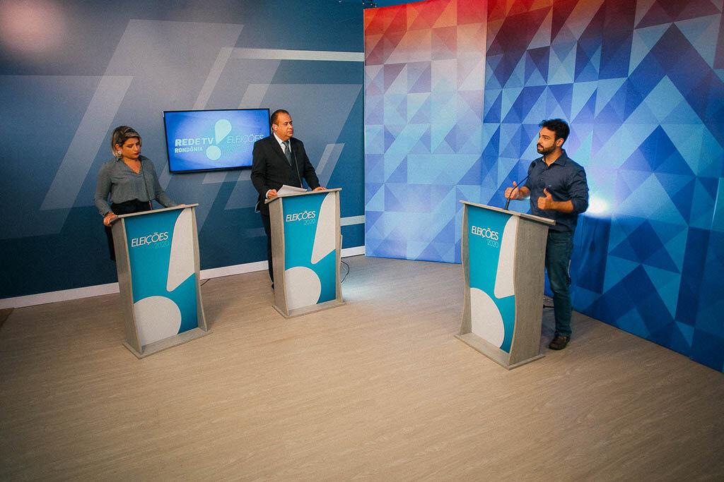 Vinícius Miguel participa de sabatina na Rede TV e mostra que está preparado para administrar Porto Velho - Gente de Opinião