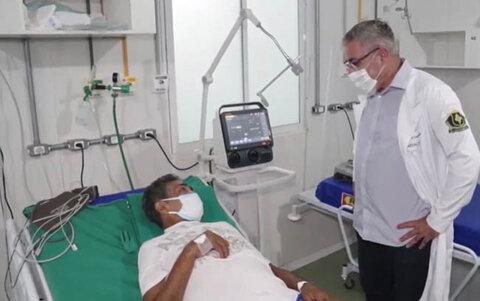 Sesau desativa hospital de campanha em Porto Velho