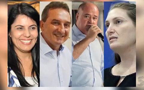 Prefeitos presos por corrupção desistem da reeleição. À exceção de Glaucione, de Cacoal