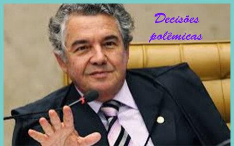 Ministro Marco Aurélio soltou mais de 80 criminosos + Partidos caem fora da coligação do PDT em Ji-Paraná + Na capital, oito com chances e nove só se der zebra