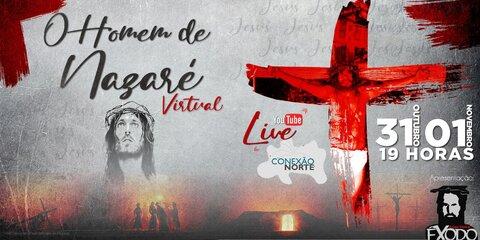 Lenha na Fogueira com a LIVE da peça O Homem de Nazaré.
