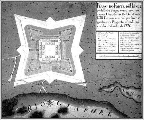 A Terceira Margem – Parte LXXII - Real Forte do Príncipe da Beira - IX