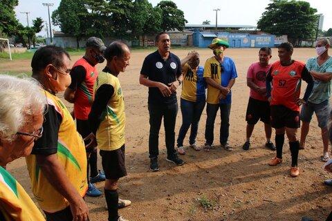Eyder Brasil vai revitalizar centros esportivos e apoiar atletas de todas as áreas