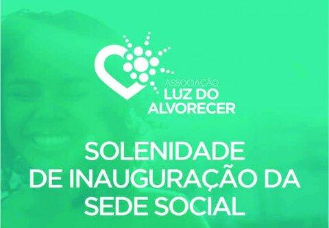 Associação Luz do Alvorecer inaugura dia 14 sua sede social em Porto Velho