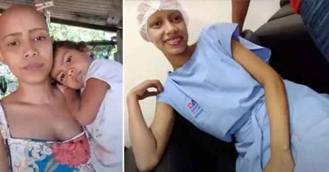 Fernanda tem 19 anos, uma filha pequena e descobriu um câncer raro. Vamos ajudá-la a custear seu tratamento? - Gente de Opinião
