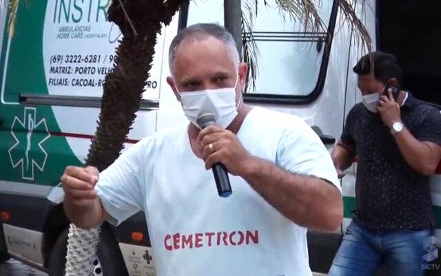Servidores da saúde protestam em frente aos hospitais em Porto Velho - Gente de Opinião
