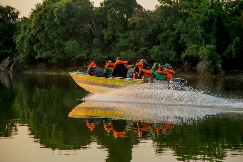 Resíduos serão retirados do rio Guaporé no início de dezembro; objetivo é descontaminar águas do rio fronteiriço