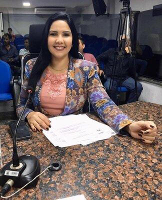 Vereadora Cristiane Lopes é autora de Leis importantíssimas para os cidadãos portovelhenses.
