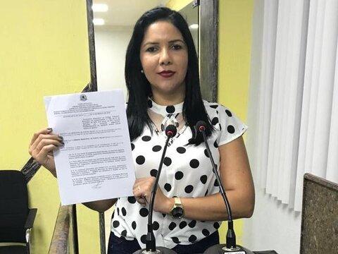 Vereadora Cristiane Lopes cobra melhorias para bairros da Capital