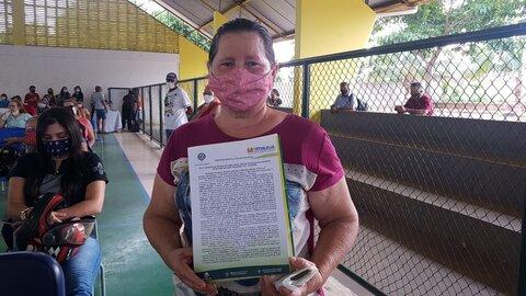 Documentos definitivos do Programa Título Já são entregues a famílias de Rolim de Moura