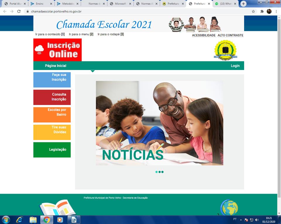 Prefeitura de Porto Velho divulga documentação para Chamada Escolar - Gente de Opinião