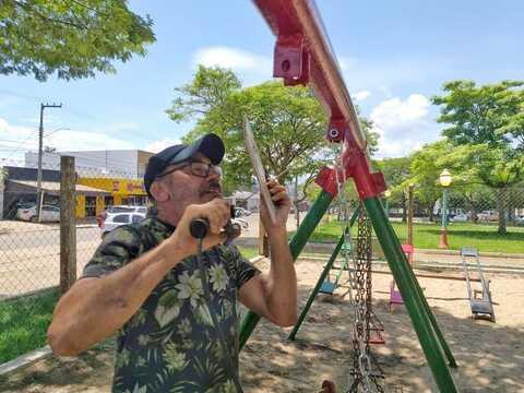 Servidor da Fundação Cultural lança projeto comunitário de revitalização das praças de Vilhena