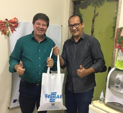 FCDL-RO e Sebrae planejam ações em conjunto - Gente de Opinião