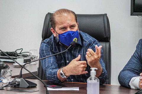 Cirone Deiró defende plano emergencial para o enfrentamento da Covid-19