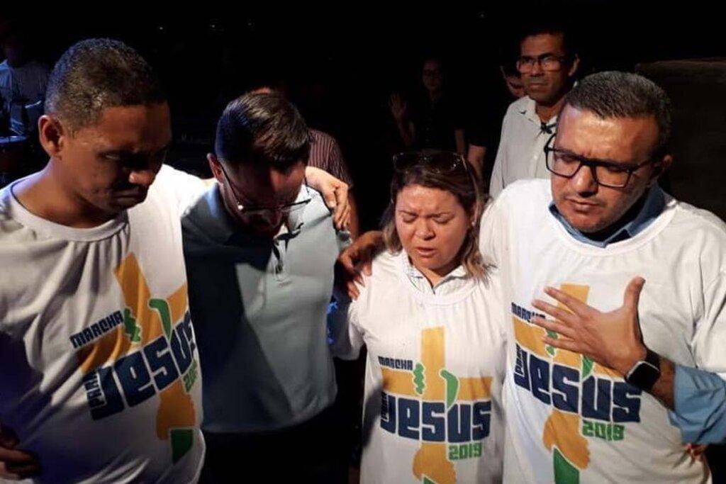 """Sancionada lei do deputado Alex Silva que inclui o evento """"Marcha para Jesus"""" no calendário cultural oficial do estado de Rondônia - Gente de Opinião"""