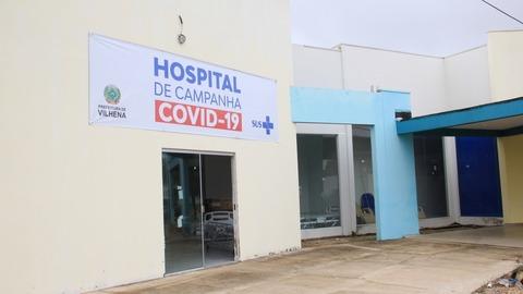 Hospital de Campanha da Prefeitura de Vilhena vai oferecer mais 20 leitos para covid-19 nos próximos dias
