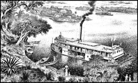 A Terceira Margem – Parte CXXXII - Foz do Breu, AC/ Manaus, AM ‒ Parte VIII