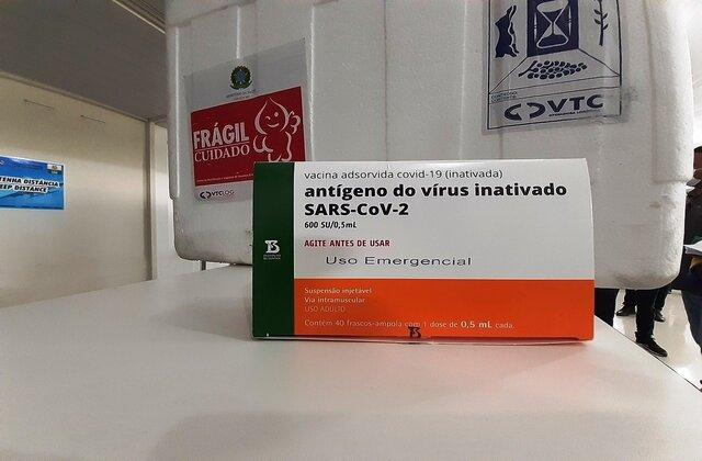 Governo de Rondônia entrega 100% do primeiro lote das vacinas contra Covid-19 às regionais de saúde; municípios iniciam vacinação