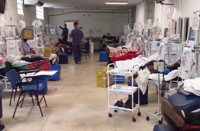 Hospitais de Rondônia estão com 95% dos leitos de UTI ocupados