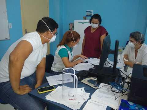 Coren-RO realiza fiscalização em unidades de Saúde de Porto Velho com foco na pandemia de Covid-19