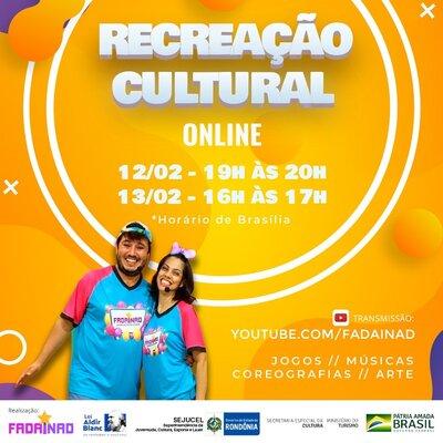 """Lenha na Fogueira com a Live """"Recreação Cultural Online"""" e o Prêmio Sesc de Literatura"""