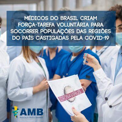 AMB Rondônia participa da Força tarefa AMB covid-19