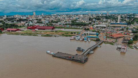 Prefeitura de Porto Velho monitora Rio Madeira e famílias ribeirinhas