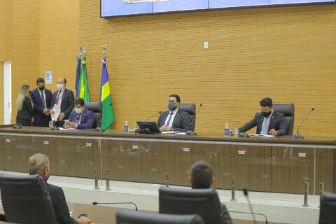 Assembleia Legislativa de Rondônia abre ano legislativo com participação virtual de deputados e autoridades