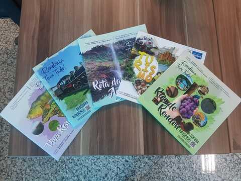 Viaja Mais Servidor: Setur lança cinco livros para estimular e promover o potencial turístico do Estado de Rondônia