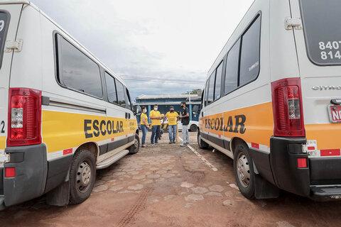Em Porto Velho a vistoria no transporte escolar deve ser agendada por telefone