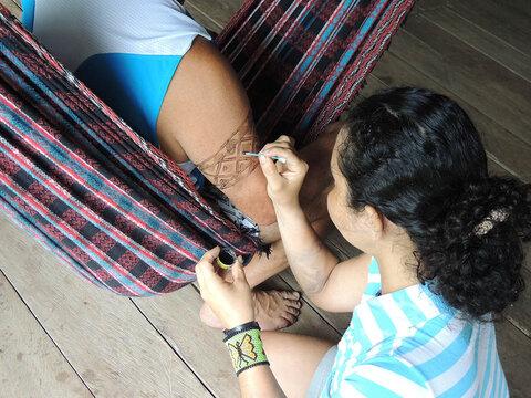 A Terceira Margem – Parte CLXIII - Foz do Breu, AC/ Manaus, AM ‒ Parte XXXIX  Kampũ – a Vacina do Sapo II