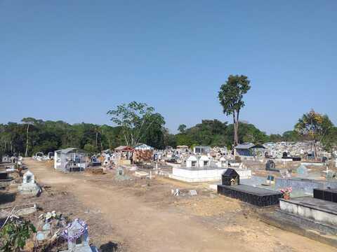 Porto Velho: mortes causadas pela pandemia provocam lotação no Cemitério Santo Antônio
