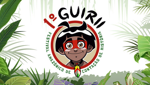 Fada Inad divulga vídeos selecionados para o 1° Guirii - Festival Amazônico de Contação de História